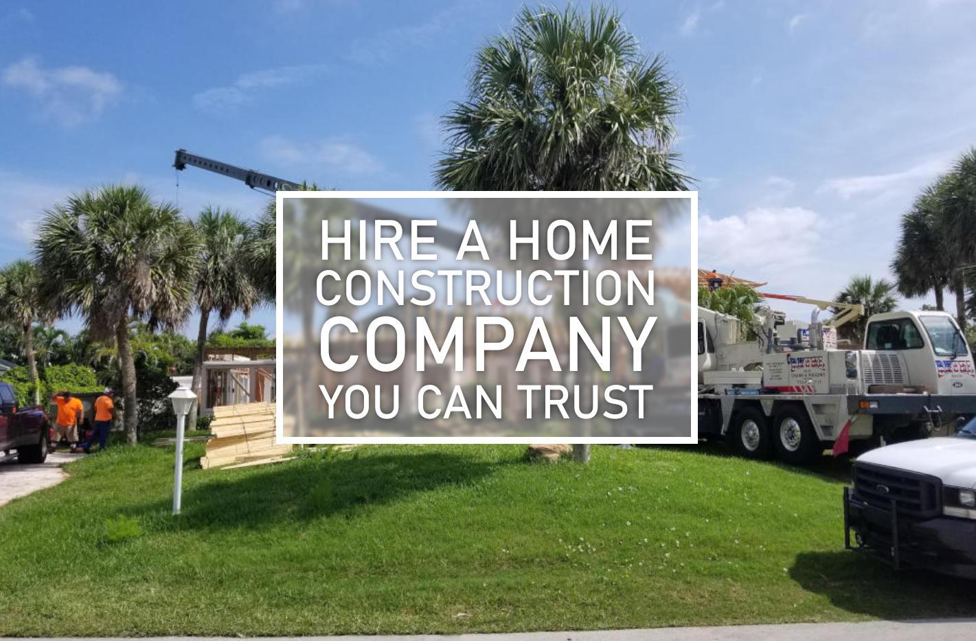 home construction company