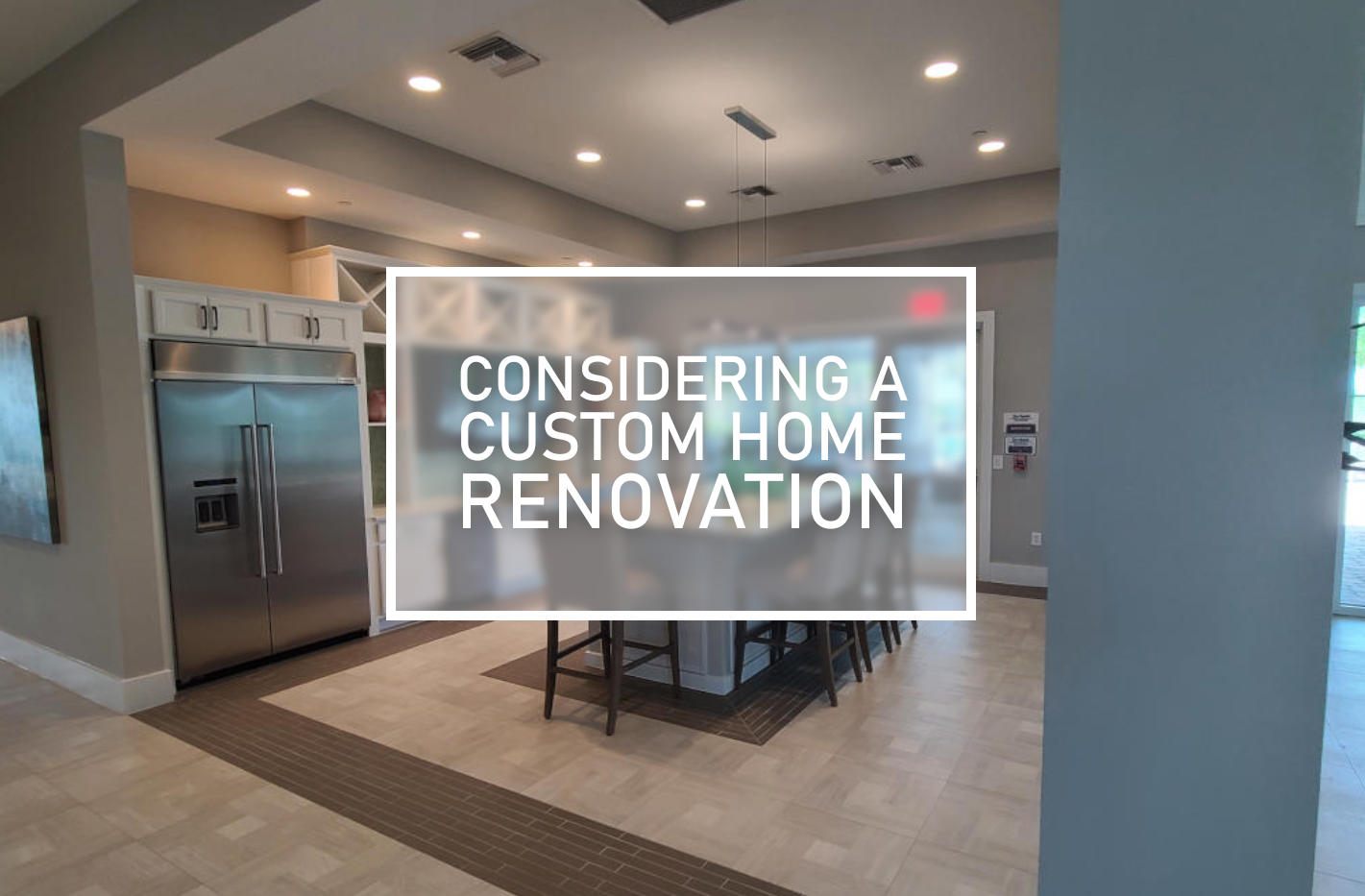 custom home restoration